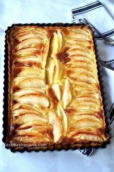 tarte aux pommes et mascarpone …