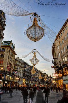 Vienna, Austria ~ Holiday lights by Denise Vitarelli Gabriele Ottaviani on 500px