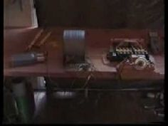 35 Watts Selfrunning Delay Line Motor Generator