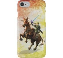 Legend Of Zelda Advanture Link iPhone Case/Skin