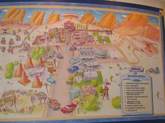 31 Awesome radiator springs map images