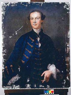 William Randolph Turkey Island | Ryland's portrait after cleaning,