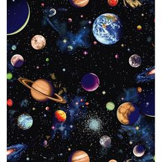 101 Planet repeat) Sold in half-meter units (If is desired, then select 3 units) Minimum cut length multiple units will cut in one full length Planets Wallpaper, Galaxy Wallpaper, Iphone Wallpaper, Space Painting, Galaxy Painting, Solar System Painting, Solar System Art, Planet Painting, Systems Art