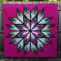 Prismatic Star ~Quiltworx.com, made by CI Dianne Kinsey