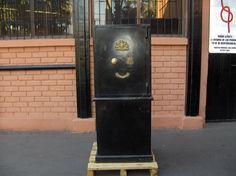 Caja De Seguridad Dread Nought Safe Pedestal Negro / Usada / 3 – ChileRemates.cl http://www.chileremates.cl/varios/cajas-de-seguridad-usadas/