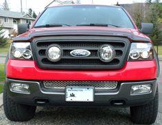 Www F150 Forums Com Members Purplehazeir 11 Albums My 2004 F 150 7 Picture Kevins F 150 Hella Grill Hids Halos 33 Jpg Ford Pickup Trucks Ford F150 F150