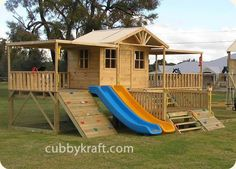 Timbertop Mansion Cubby House - Australian Cubby Houses