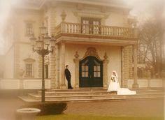 In 2000 maakte Marianne deze leuke trouwfoto in de Efteling