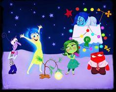 Personagens Disney em Filmes de Natal