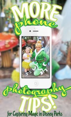 More Phone Photography Tips for Disney