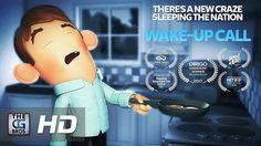 """**Award Winning** CGI 3D Animated Short  Film: """"Wake-Up Call""""  - by Luke..."""