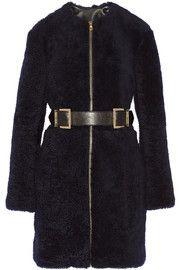 Adam LippesBelted shearling coat