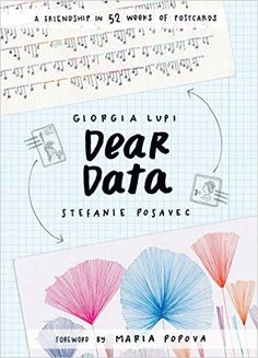 """Dear Data - NORTH AMERICA   """"Equal parts mail art, data visualization, and affectionate correspondence, Dear Data celebrates """"the infinitesimal, incomplete, imperfect, yet exquisitely human details of life,"""" in the words of Maria Popova (Brain Pickings), who introduces this charming and graphically powerful book."""""""