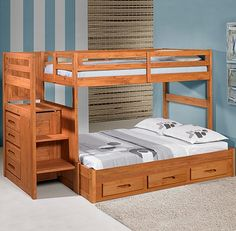 Staircase Bunk Bed (Stair Stepper Bunk Bed)