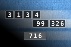 NUMBERMANIA: Calculate the number 716 using numbers [3, 1, 3, 4, 99, 326] and basic arithmetic operations (+, -, *, /). Each of the numbers can be used only once.