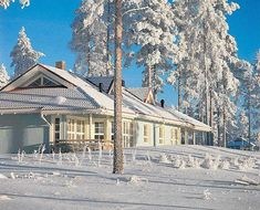 Katink apartment in winter     SOURCE: Holiday Club Finland, courtesy of Finland Tourist Board www.VisitFinland.com
