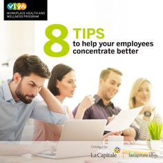 Help your employees concentrate better