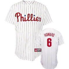 Ryan Howard Youth Philadelphia Phillies Home White Replica Jersey --- http://www.pinterest.com.mnn.co/49y