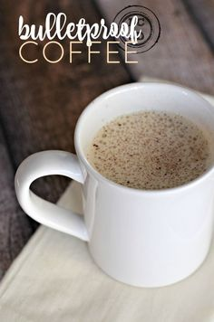 Bulletproof Coffee -