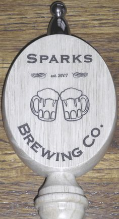Custom Beer Tap Handle for a Home Brewing Company