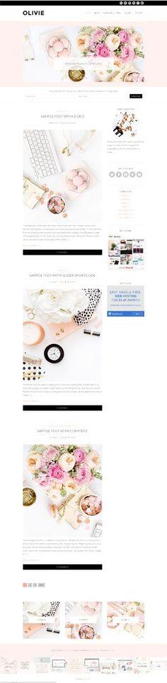 Feminine WordPress themes gallery                                                                                                                                                                                 More