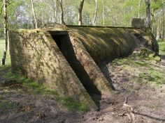 another air raid shelter--love the angles. what if this connected to like a tube network of sorts that split and go all over the space...