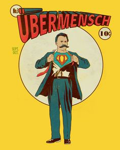 """""""The Übermensch (German; English: Overman, Superman) is a concept in the Philosophy of Friedrich Nietzsche"""" After reading about Ubermensch's concept, i . Friedrich Nietzsche, Montevideo, Space Odyssey, Comic Book Heroes, Comic Books, Like A Sir, Most Popular Books, Human Condition, Nice To Meet"""