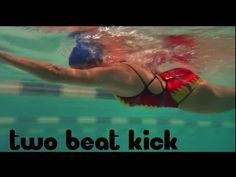 Two Beat Kick Freestyle - Swim Sensi - YouTube
