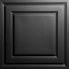 Stratford Black Feather-Light Ceiling Tiles are unlike any ceiling tile you will ever see or feel. When you take them out of the box you will be surprised by the minimal weight of their Feather-Light Drop Ceiling Lighting, Drop Ceiling Tiles, Ceiling Grid, Dropped Ceiling, Black Ceiling, Ceiling Panels, Ceiling Decor, Ceiling Lights, Modern Ceiling