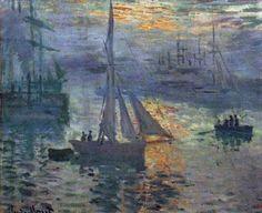 Monet - Sunrise at Sea