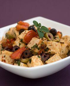 Puttanesca Tofu Scramble | Post Punk Kitchen | Vegan Baking & Vegan Cooking