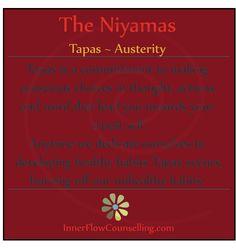 Tapas - Niyama of discipline. Meditation Quotes, Yoga Quotes, Yoga Meditation, Yoga Words, Yamas And Niyamas, Eight Limbs Of Yoga, Yoga Thoughts, Yoga Philosophy, Restorative Yoga