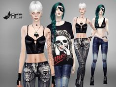 MFS Rebels Collection by MissFortune at TSR • Sims 4 Updates