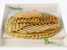 Get Herbed Flatbread Recipe from Food Network