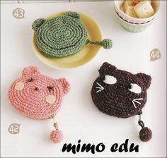 Mimo Crochet: أكياس نقود4