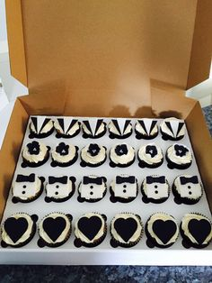 Great Gatsby inspired cupcakes