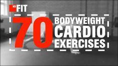 70 Bodyweight Cardio Exercises