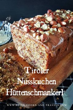 Crockpot Dessert Recipes, Baking Recipes, Cake Recipes, Snacks To Make, Easy Snacks, German Baking, German Cake, Austrian Recipes, Sweet Bakery
