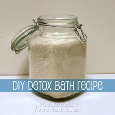 DIY Detox Bath Recipe: Relieves stress and helps boost immune system
