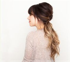 Ombre hair done right.