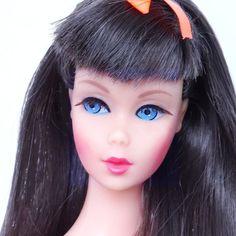 Stunning! Vintage Dark Brunette Twist 'N Turn TnT Barbie Doll  Mint!