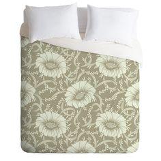 Sabine Reinhart Floral Dream Duvet Cover   DENY Designs Home Accessories