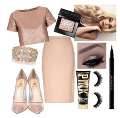 """""""Untitled #392"""" by sam-100 ❤ liked on Polyvore featuring MaxMara, Glamorous, Semilla, Bobbi Brown Cosmetics, Oasis, Urban Decay, women's clothing, women's fashion, women and female"""