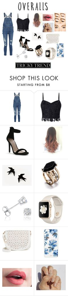 """""""Overalls"""" by jumainakmir ❤ liked on Polyvore featuring Frame, Lipsy, Amanda Rose Collection, Under One Sky, Sonix, SoGloss, TrickyTrend and overalls"""