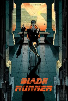 Blade Runner Fan Poster Victo Ngai Sometimes I am big fan enough to make fan art, this is one of the times. Very excited to share my privately commissioned fan poster for one of my favorite movies-. Blade Runner Art, Blade Runner Poster, Blade Runner 2049, Fan Poster, Movie Poster Art, Sci Fi Movies, Good Movies, Indie Movies, Action Movies