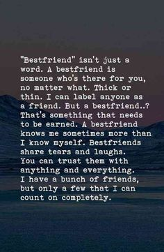 friends quotes deep Friendship Quotes for girls distance My Best Friend Quotes, Best Friend Quotes Meaningful, Besties Quotes, Bffs, Bestfriends, To My Best Friend, Letter To Best Friend, Forever Friends Quotes, More Than Friends Quotes