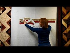 ▶ Quilting Tutorial: Hot Cross Stars and More Double-Strip Ruler Quilts - YouTube