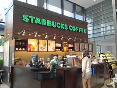 Inside Starbucks in Incheon, South Korea