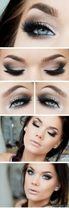 maquillage mariage yeux bleu - Google Search