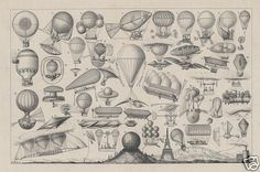 Dirigibles of the Golden Age : From History to Steampunk | The Pennington Edition
